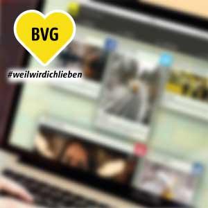 BVG Weil wir dich lieben